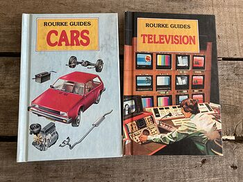 Rourke Guides Cars and Television Books C1984 #xkG2N6I24vI