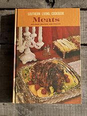 Southern Living Cookbook Meats C1967 #WrD94z1v5Qw