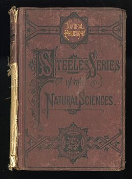 Steeles New Physics Fourteen Weeks in Physics Antique Illustrated Book by J Dorman Steele C1878 #3QTqFNeTLiM