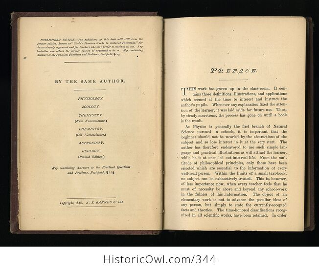 Steeles New Physics Fourteen Weeks in Physics Antique Illustrated Book by J Dorman Steele C1878 - #3QTqFNeTLiM-4