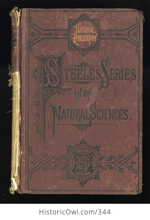 Steeles New Physics Fourteen Weeks in Physics Antique Illustrated Book by J Dorman Steele C1878 - #3QTqFNeTLiM-1