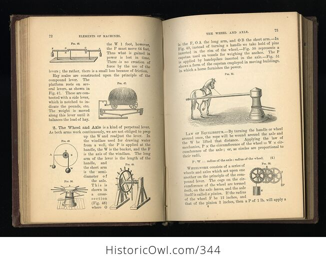 Steeles New Physics Fourteen Weeks in Physics Antique Illustrated Book by J Dorman Steele C1878 - #3QTqFNeTLiM-5