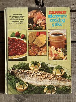 Tappan Microwave Cooking Guide Book C1979 #bszpC0368HA