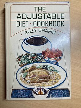 The Adjustable Diet Cookbook by Suzy Chapin C1967 #ybKCzE59iOw