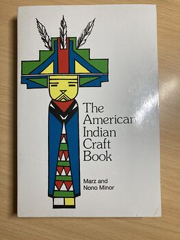 The American Indian Craft Book by Marz and Nono Minor C 1978 #1AAITf9KVEA