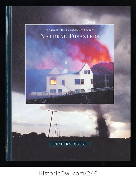 The Earth Its Wonders Its Secrets Natural Disasters Book by Readers Digest C1997 - #y5Cu4L4dN8Y-1