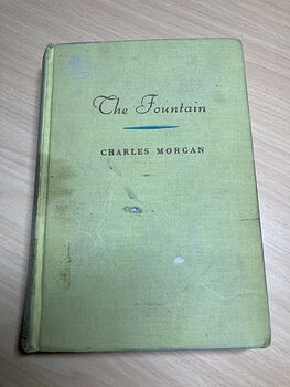 The Fountain Antique Book by Charles Morgan Twelfth Printing C1932 #MWjSRDp6tMA