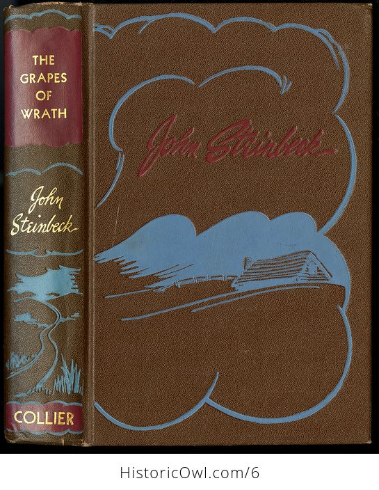 The Grapes of Wrath by John Steinbeck Copyright 1930 P F Collier and Son Corporation - #LhOEyz0OhFI-1