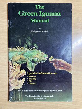 The Green Iguana Manual by Philippe De Vosjoli C1992 #r3cpTryF4EE