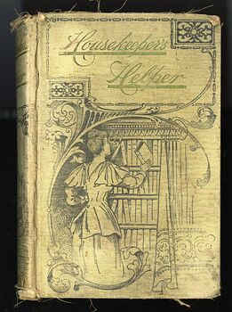 The Housekeepers Helper Antique Illustrated Book C1892 #i3dMNaGRH80