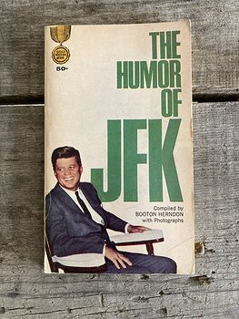 The Humor of Jfk Paperback Book by Booton Herndon C1964 #sSlhUXX7xAA