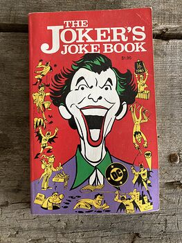 The Jokers Joke Book by Mort Todd C1987 #pOnisriPzmo