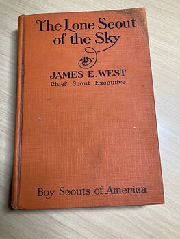 The Lone Scout of the Sky by James West Boy Scouts of America Book C1928 #Bfl87M2ssMk