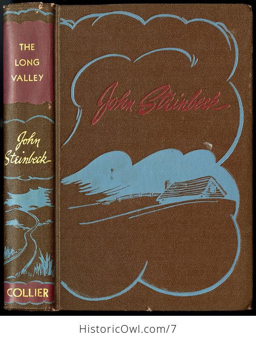 The Long Valley John Steinbeck 1938 - #LFPujYowLVA-1