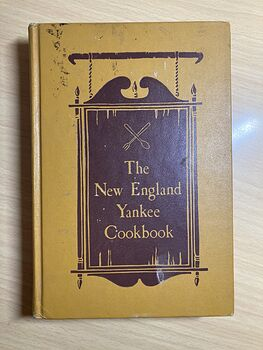 The New England Yankee Cookbook by Imogene Wolcott C1939 #AzIOzjQ1aeg