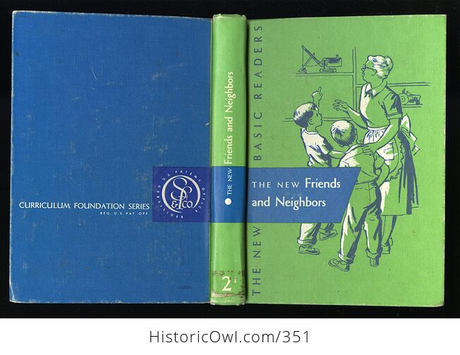 The New Friends and Neighbors Vintage Book by William Gray Marion Monroe a Sterl Artley and May Hill Arbuthnot C1956 - #Wr2akIvuwvc-2