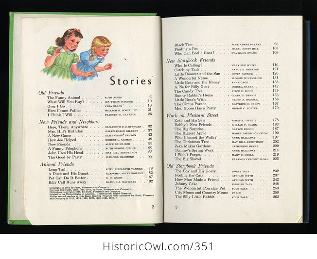 The New Friends and Neighbors Vintage Book by William Gray Marion Monroe a Sterl Artley and May Hill Arbuthnot C1956 - #Wr2akIvuwvc-5