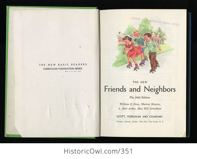 The New Friends and Neighbors Vintage Book by William Gray Marion Monroe a Sterl Artley and May Hill Arbuthnot C1956 - #Wr2akIvuwvc-4