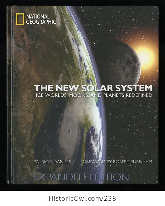 The New Solar System Ice Worlds Moons and Planets Redefined Book by Patricia Daniels C2010 - #pHvvKHogIKU-1
