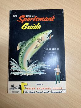 The Oregon Sportsmans Guide Paperback Book Fishing Edition 1960 to 1961 Published by Foster Sporting Goods #b69lxc9pyBo