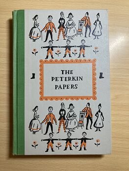 The Peterkin Papers Vintage Book by Lucretia P Hale Illustrated by Ezra Jack Keats Junior Deluxe Editions C1955 #7QuDffrsiAU