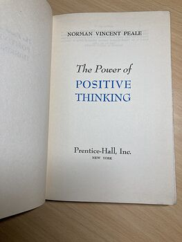 The Power of Positive Thinking Vintage Book by Norman Vincent Peale C1952 #R61pqmZ4szs