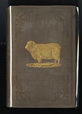 The Practical Shepherd a Complete Treatise on the Breeding Management and Diseases of Sheep Antique Illustrated Book by Henry S Randall Ll D C1863 #8L5fynavtuE