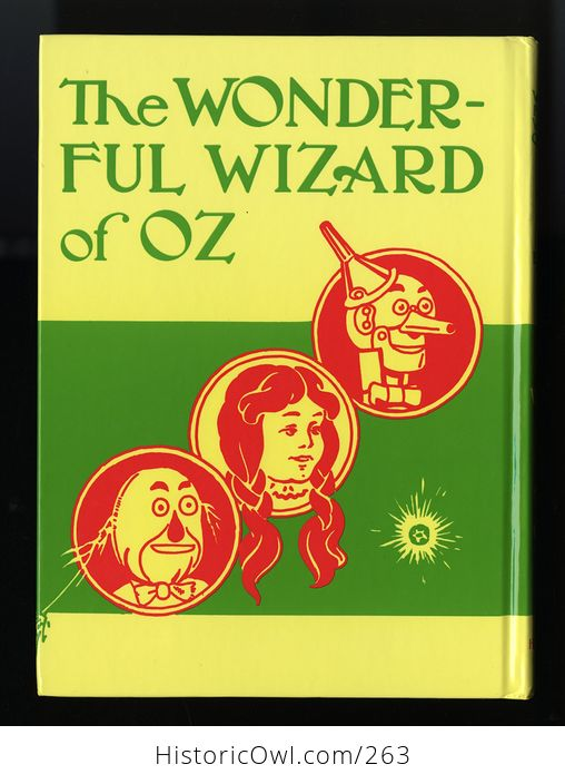 The Wonderful Wizard of Oz 100th Anniversary Edition Hardcover Book L Frank Baum C1987 - #X0l6E6pPw8g-4