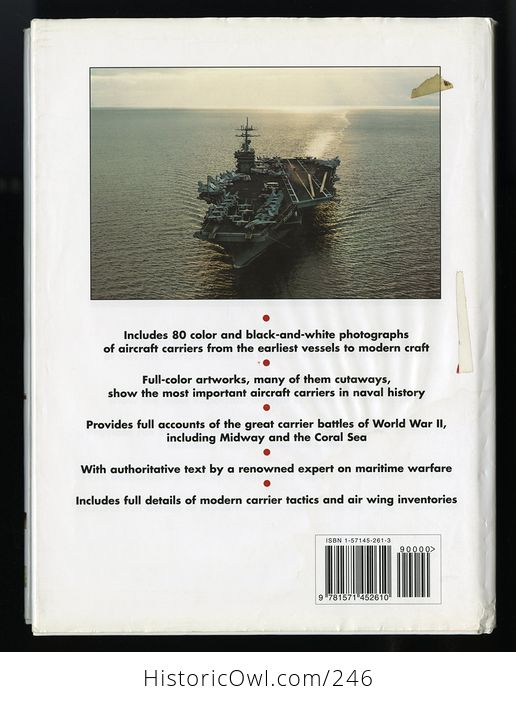 The Worlds Great Aircraft Carriers from the Civil War to the Present by Antony Preston C1999 - #w78pxievp2w-2