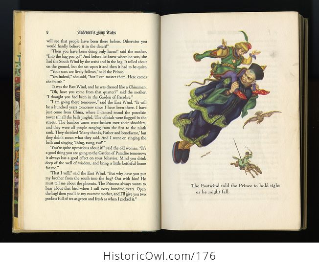 Vintage Book Andersens Fairy Tales Illustrated by Arthur Szyk C1945 - #id4wdqzrjnQ-3