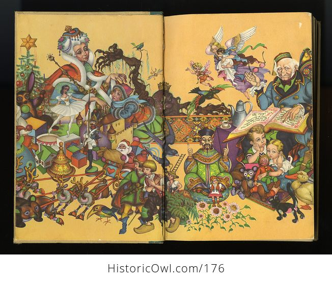 Vintage Book Andersens Fairy Tales Illustrated by Arthur Szyk C1945 - #id4wdqzrjnQ-9