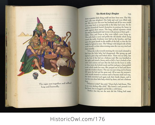 Vintage Book Andersens Fairy Tales Illustrated by Arthur Szyk C1945 - #id4wdqzrjnQ-5