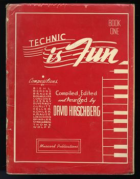 Vintage Book Technic Is Fun Book One by David Hirschberg C1941 #c3FGYslDuTA