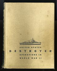 Vintage Book United States Destroyer Operations in World War Ii by Theodore Roscoe C1953 #0r76vexMAfs
