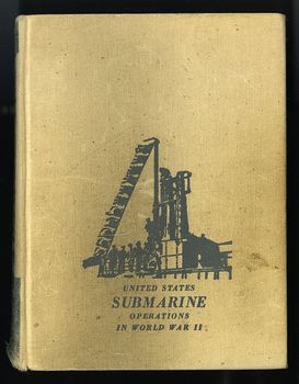 Vintage Book United States Submarine Operations in World War Ii by Theodore Roscoe C1953 #GgNdno0lCmw