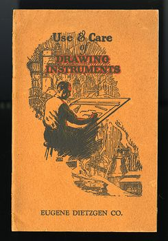 Vintage Booklet Use and Care of Drawing Instruments with Instructive Exercises by Eugene Dietzgen C1947 #A6wECF86eWI