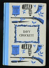 Vintage Davy Crockett Illustrated Book by Constance Rourke Junior Deluxe Editions C1962 #oCQs5ciamlM