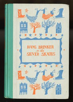 Vintage Hans Brinker or the Silver Skates Illustrated Book by Mary Mapes Dodge Junior Deluxe Editions C1954 #wdqIO7ccuBA