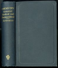 Vintage Illustrated Book Chemistry General Medical and Pharmaceutical by John Attfield C1894 #hpcxEfCScAA