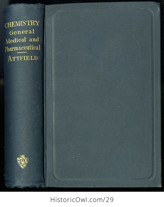 Vintage Illustrated Book Chemistry General Medical and Pharmaceutical by John Attfield C1894 - #hpcxEfCScAA-1