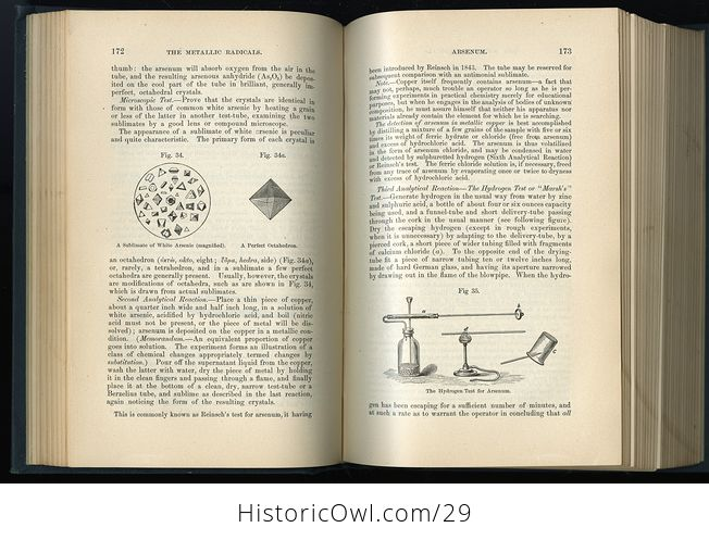 Vintage Illustrated Book Chemistry General Medical and Pharmaceutical by John Attfield C1894 - #hpcxEfCScAA-5