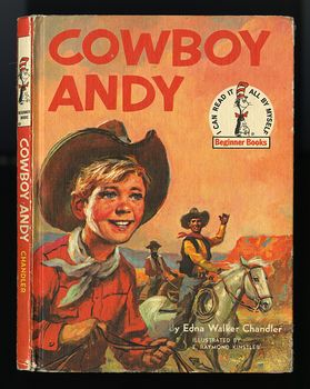 Vintage Illustrated Book Cowboy Andy Based on a Story by Edna Walker Chandler and Illustrated by E Raymond Kinstler C1959 #iEoC3xMAQBM