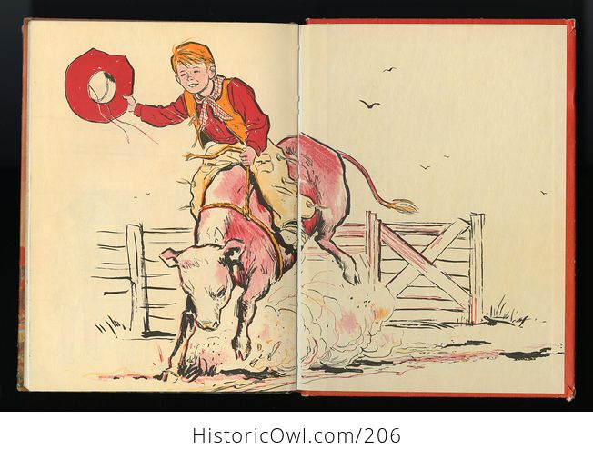 Vintage Illustrated Book Cowboy Andy Based on a Story by Edna Walker Chandler and Illustrated by E Raymond Kinstler C1959 - #iEoC3xMAQBM-7