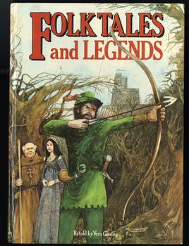 Vintage Illustrated Book Folk Tales and Legends Retold by Michaela Tvrdikova and Translated by Vera Gissing C1981 #43fA1pXfSHY