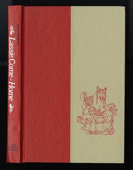 Vintage Illustrated Book Lassie Come Home by Eric Knight Holt Rinehart and Winston C1964 #NWwRva2f1kY