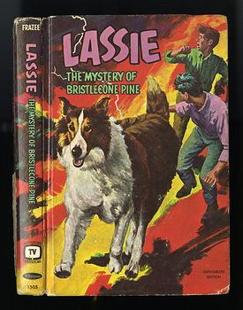 Vintage Illustrated Book Lassie the Mystery of Bristlecone Pine C1967 #eXcQ8tiSsL8