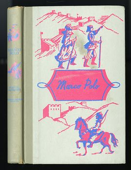 Vintage Illustrated Book Marco Polo by Manuel Komroff Junior Deluxe Editions C1952 #UwrfTmvGrCI