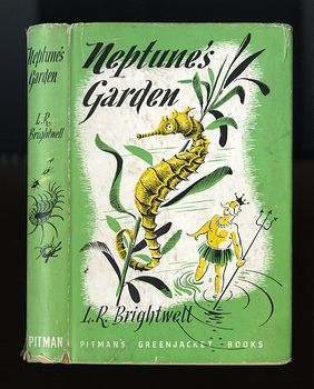 Vintage Illustrated Book Neptunes Garden by L R Brightwell C1947 #tx9wxOfIDOA
