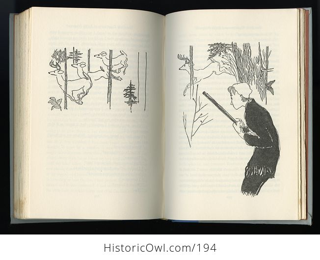 Vintage Illustrated Book Rip Van Winkle by Washington Irving Junior Deluxe Editions C1955 - #gAqwWTW5NAU-6