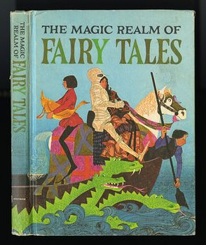 Vintage Illustrated Book the Magic Realm of Fairy Tales Illustrated by Leslie Gray and Judy Stang Whitman Publishing Divison C1968 #BCzwqpEadE8